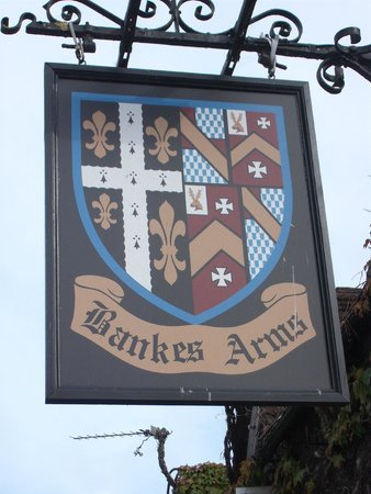 The Bankes Arms Country Inn: Bankes Arms sign