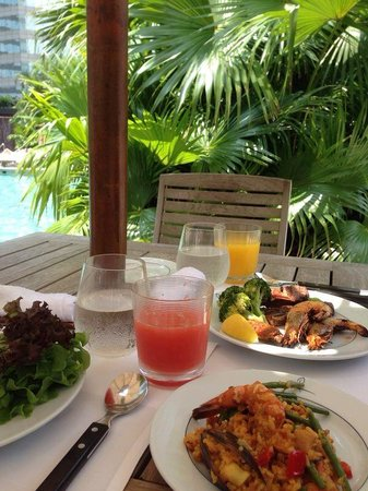 The Grill (Grand Hyatt Hong Kong) : Delightful brunch