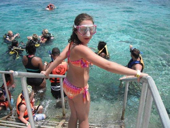 Chankanaab Beach Adventure Park: entrance to the snorkeling