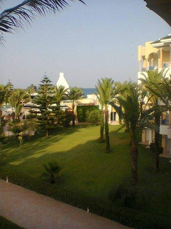 Hasdrubal Thalassa & Spa: vue sur le jardin