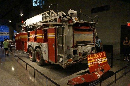 Memorial del 11S: firetruck