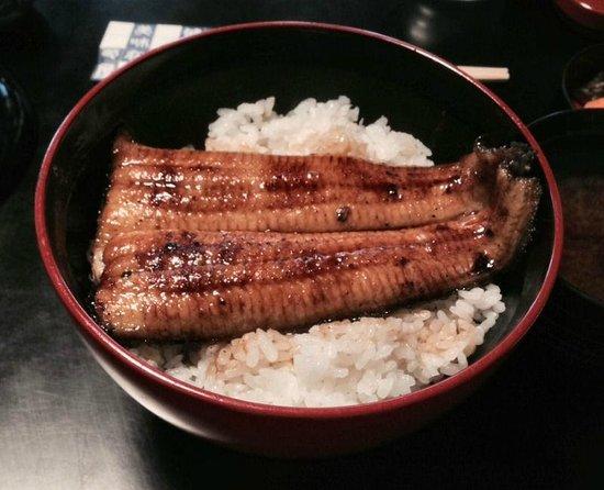 Naritasan Omote Sando: Unagi don at Kiikuya