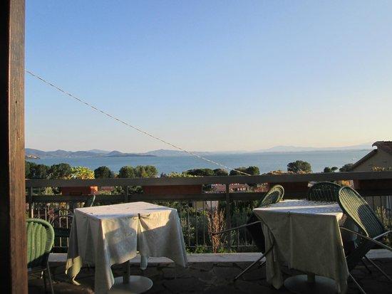 Hotel Cavalieri: Vista dalla terrazza del ristorante
