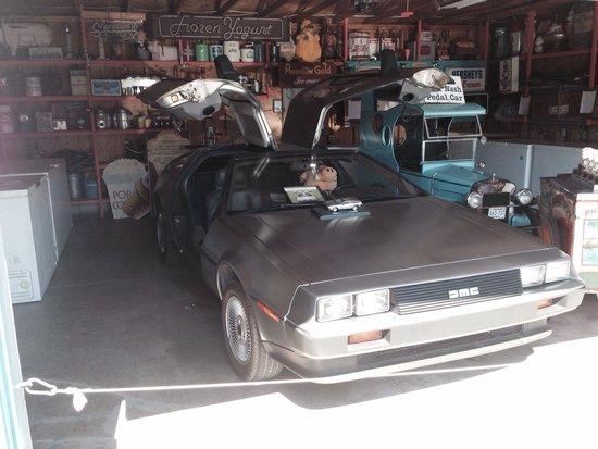 Oink's Dutch Treat: DeLorean