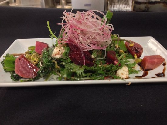 The Wine Vault: Roasted beet and blood orange salad