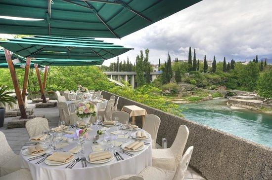 Hotel Podgorica: Terrace