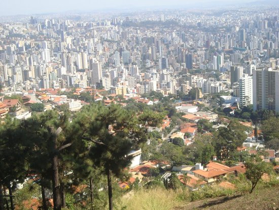 Parque Serra Do Curral: Belo Horizonte vista da serra do Curral.