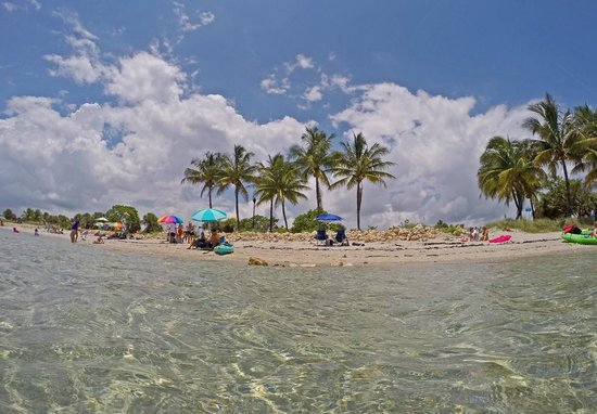 Visit Palm Beach Peanut Island At High Tide Has Crystal Clear Water