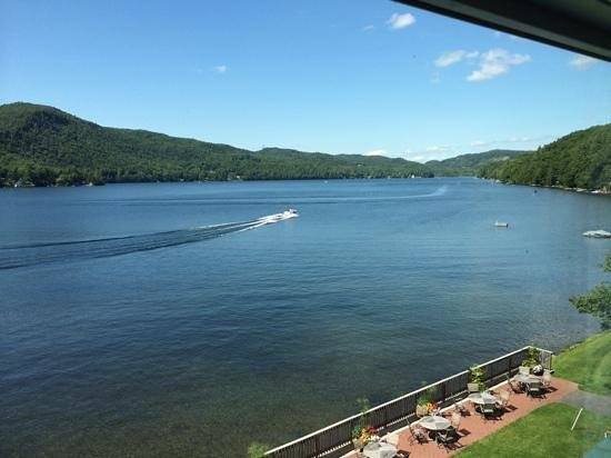 Lake Morey Resort: View from room 320