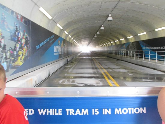 Daytona International Speedway : le tunnel :)