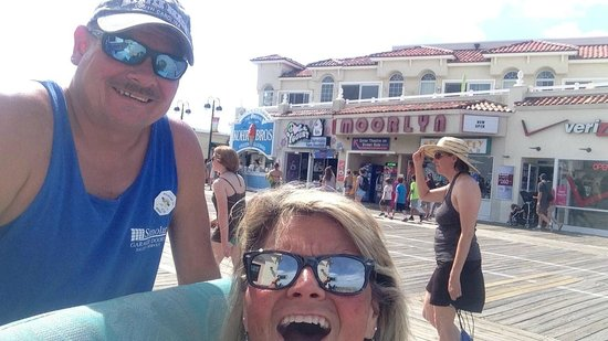 Ocean City Boardwalk: The boardwalk