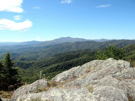 The Blowing Rock: view