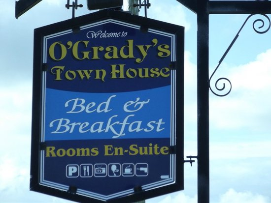 O'Grady's Townhouse Bed & Breakfast: O'Grady's B&B