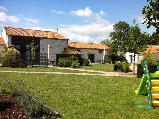 La Marette : Le jardin