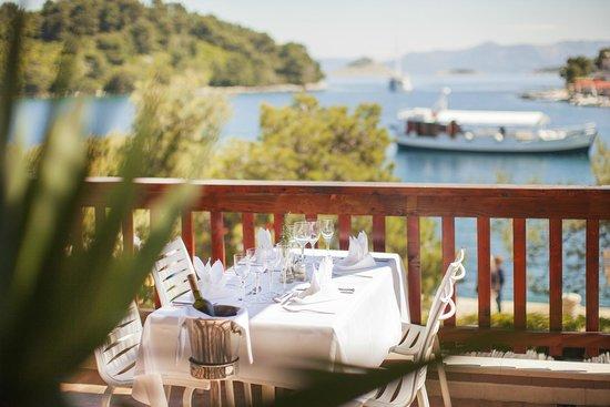Mljet National Park, โครเอเชีย: Hotel Odisej Restaurant