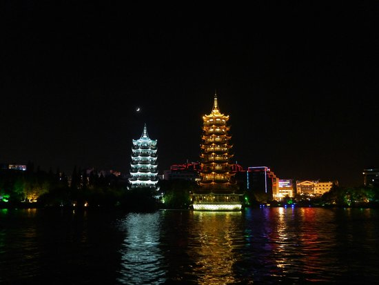 Guilin Two Rivers and Four Lakes Resort: Пагоды