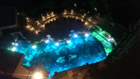Atlantis, The Palm: View of Aquarium from room