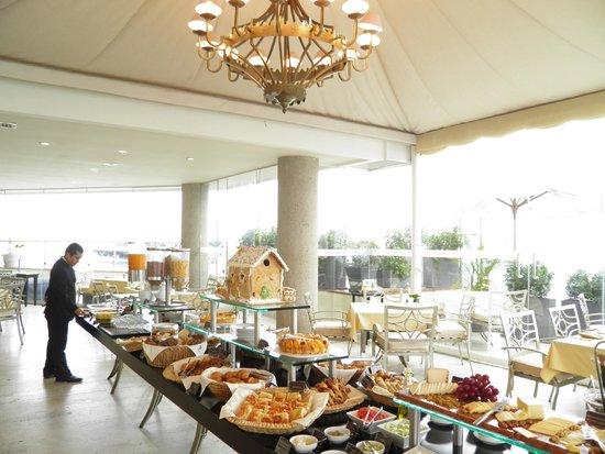 Belmond Miraflores Park: My breakfast- I barely found Protein