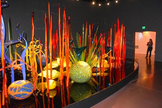 Chihuly Garden and Glass : Inside shot