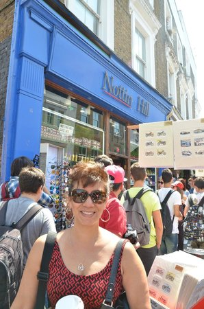 Portobello Road Market: Hugh Grant's book store!