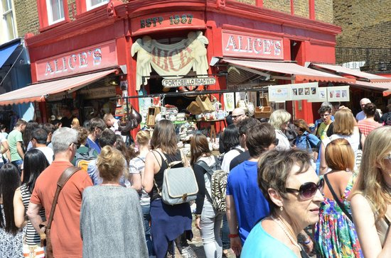 Portobello Road Market: Great antiques...