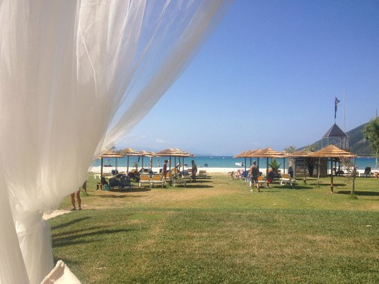 Odeon Hotel: View from beach bar