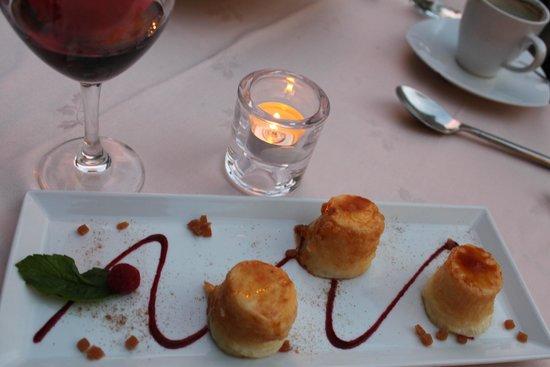 Restaurante La Orza: natillaz de mazapan