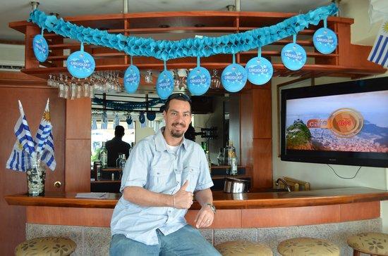 Sunset Beach Hotel: Bar do hotel