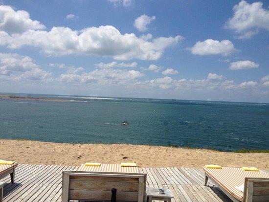 La Co(o)rniche : view from the terrace