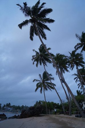 CoCo Bay Unawatuna: Hotel's Private Beach