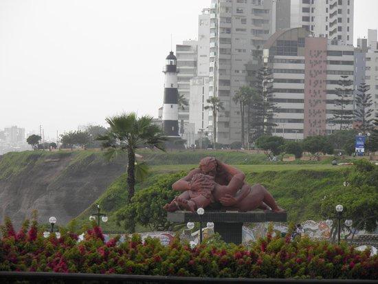 Malecón de Miraflores: Love park