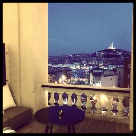 InterContinental Marseille - Hotel Dieu: Terrasse de la chambre