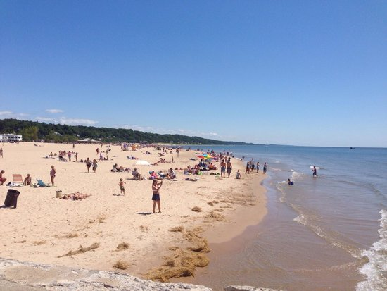Grand Haven State Park: View from the pier