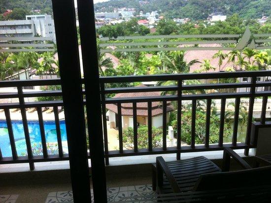 Alpina Phuket Nalina Resort & Spa : from the balcony