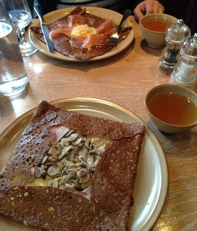 Breizh Cafe : Galette e sidra