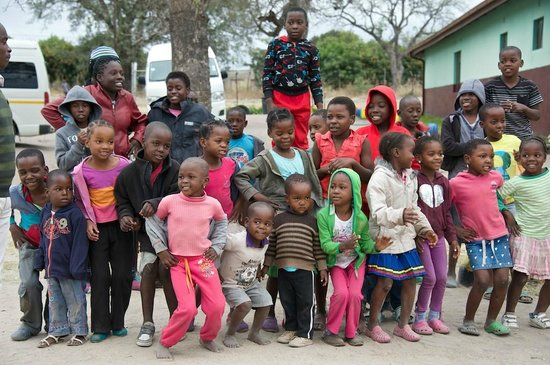 Sabi Sabi Bush Lodge: preschool sang for us