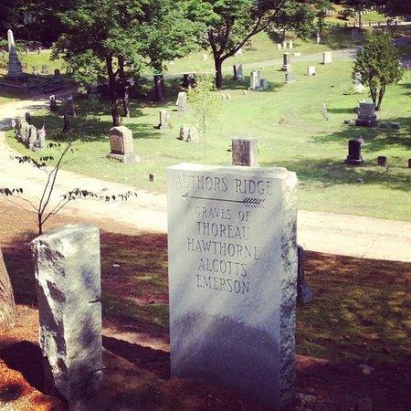 Sleepy Hollow Cemetery: Author's Ridge
