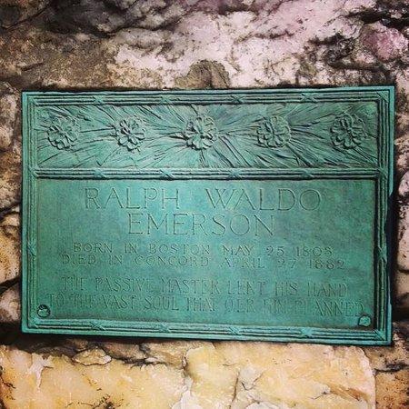 Sleepy Hollow Cemetery: Emerson