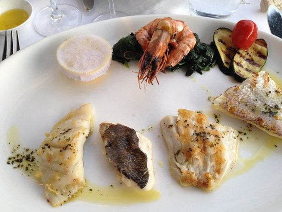 Bianchi: Mixed grill fish