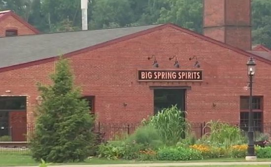 Big Spring Spirits : Picture of the Distillery from Talleyrand Park