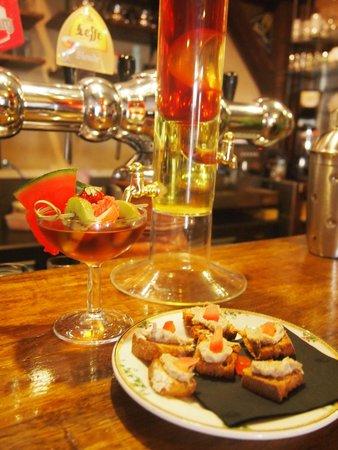 Restaurant La Bastide : cocktail petrocorix