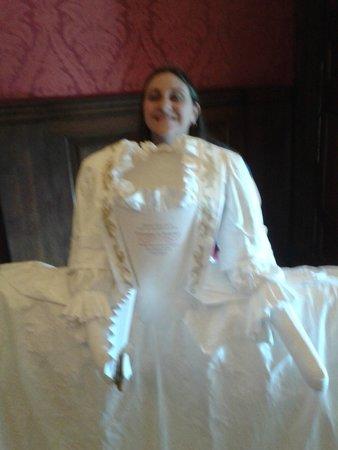 Kensington Palace: Posando