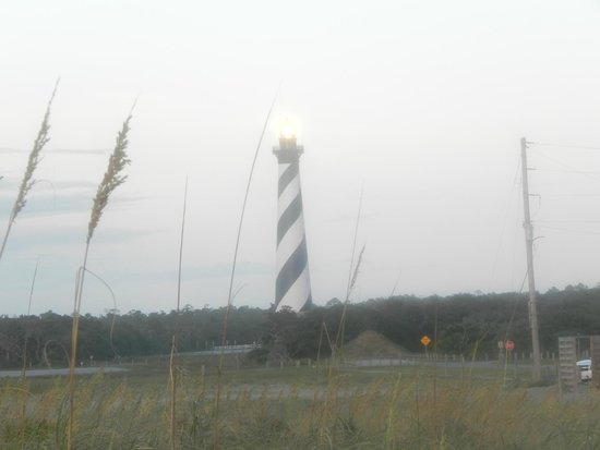 Cape Hatteras Lighthouse: Sunrise hitting the light just perfect.
