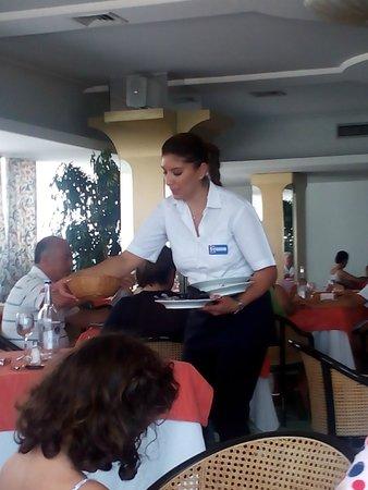 Grand Hotel Terme: ottima ristorazione servita con gentilezza e professionalità