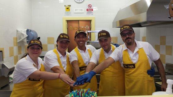 Rechips: staff re chips