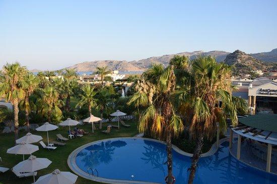 Atrium Palace Thalasso Spa Resort & Villas: vista dalla camera