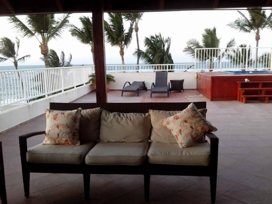 Kite Beach Hotel: terraza