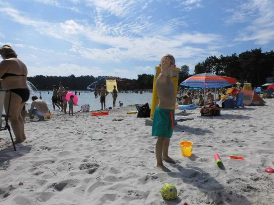 Sunparks Kempense Meren : Near by beach dcalled Silverstrand