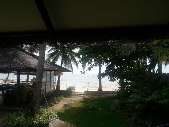 Romantic Beach Villas: Вид с нашей террасы