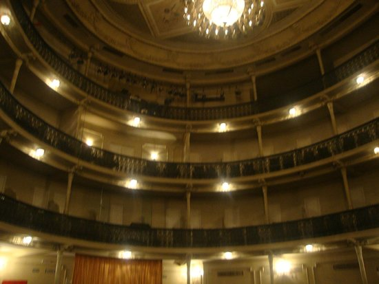 Theatro Carlos Gomes : Interior do Teatro